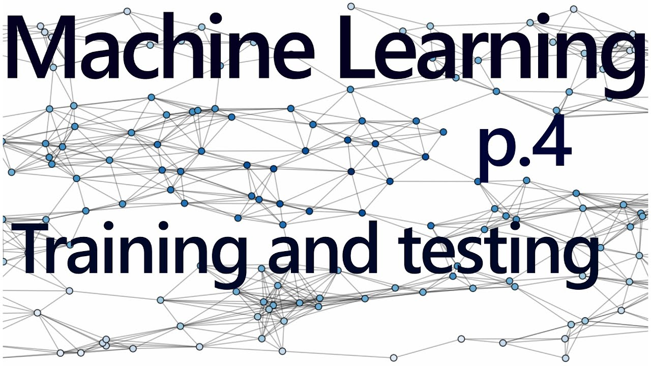 Regression Training and Testing - Practical Machine Learning Tutorial with  Python p 4