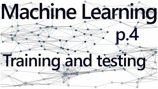 Regression Training and Testing - Practical Machine Learning Tutorial with Python p.4