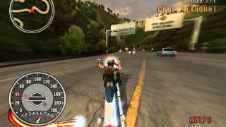 Прохождение игры Harley Davidson Race to the Rally #1