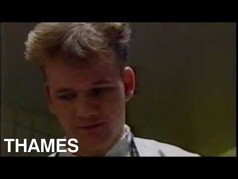 Gordon Ramsay | Before they were famous | Lobster Ravioli | Marco | 1989
