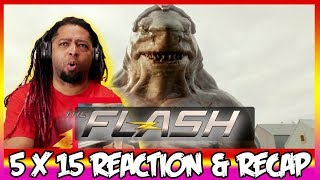 "The Flash Season 5 Episode 15 Reaction & Review ""King Shark vs. Gorilla Grodd"""