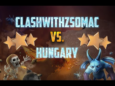 ClashWithZsomac VS. HUNGARY | Clash Of Clans Magyarul