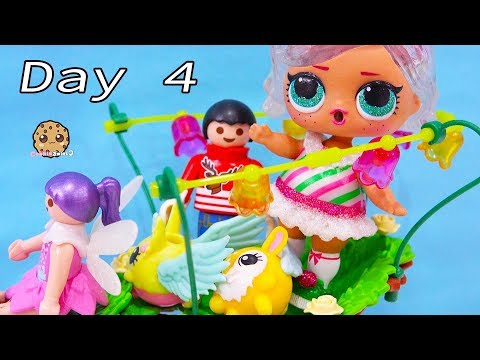 New Friends  LOL Surprise & Playmobil Advent Adventure Day 4