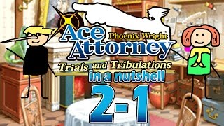 Phoenix Wright Ace Attorney: Trials And Tribulations In A Nutshell - Case 2