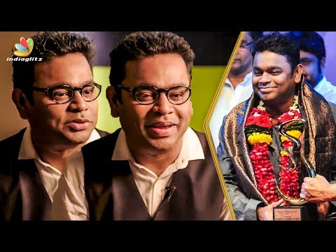Ella Pugalum Iraivanukke : AR Rahman Speech | National Award for MOM & Kaatru Veliyidai