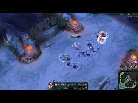 League Of Legends Elementalist Lux Game play Water+Air=Ice