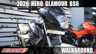 2020 Hero Glamour BS6 - WOW! | Hindi | MotorOctane