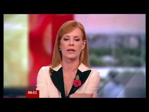 Marg Helgenberger on BBC Breakfast 03.11.11