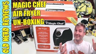 Un-Boxing My New Magic Chef Digital XL Air Fryer! 🍤🍖🍗