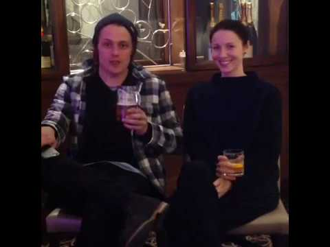 Outlander | Sam Heughan & Caitriona Balfe Q & A