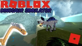 Roblox Dinosaur Simulator - Ugly Boi Explores Classic Maps (THE FLUSH)