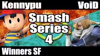 Smash Series 4 @ Da-Planet: SSB Wii U - WSF - Kennypu vs VoiD