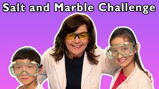 Salt and Marble Challenge + More | Mother Goose Club Playhouse Songs & Rhymes
