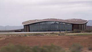 Driving around Spaceport America - STEM in 30