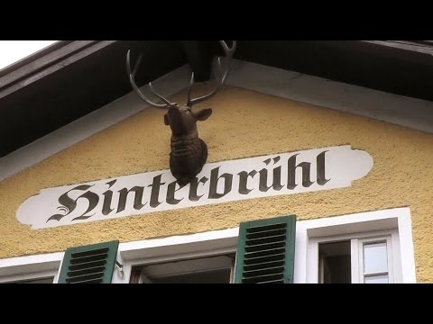 HITLER HANGOUT AT HINTERBRUHL BEER GARDEN - Munich, Germany