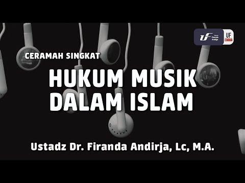 Hukum Musik Dalam Islam - Ustadz Dr. Firanda Andirja, Lc, M.A.