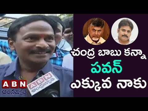I Support Janasena Says Comedian Venu Madhav In Janasena Office   ABN Telugu