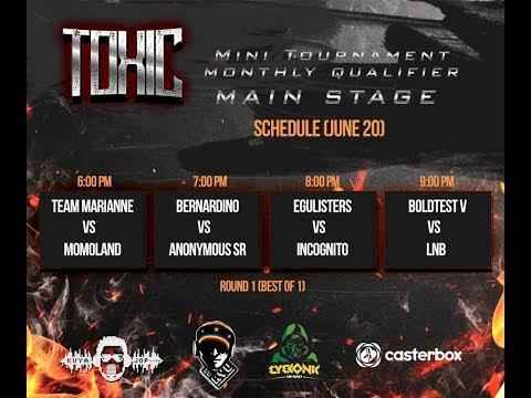 DOTA 2  PH MARIANNE VS MOMOLAND Bo1 TOXIC TOURNAMENT MAIN STAGE