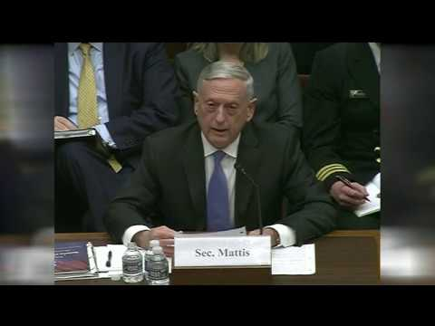 Secretary Mattis, Gen. Paul Selva testify on NATIONAL DEFENSE STRATERY, NUCLEAR POSTURE REVIEW