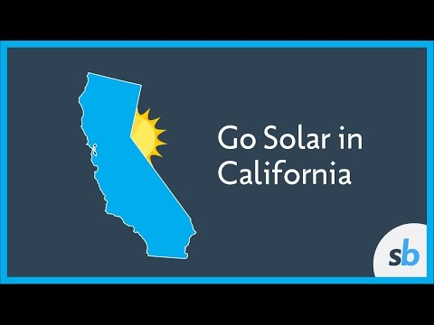 Going Solar In California