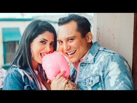 Edwin Luna y su novia Kimberly Flores revelan que esperan una niña