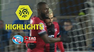 RC Strasbourg Alsace - EA Guingamp (0-2) - Highlights - (RCSA - EAG) / 2017-18
