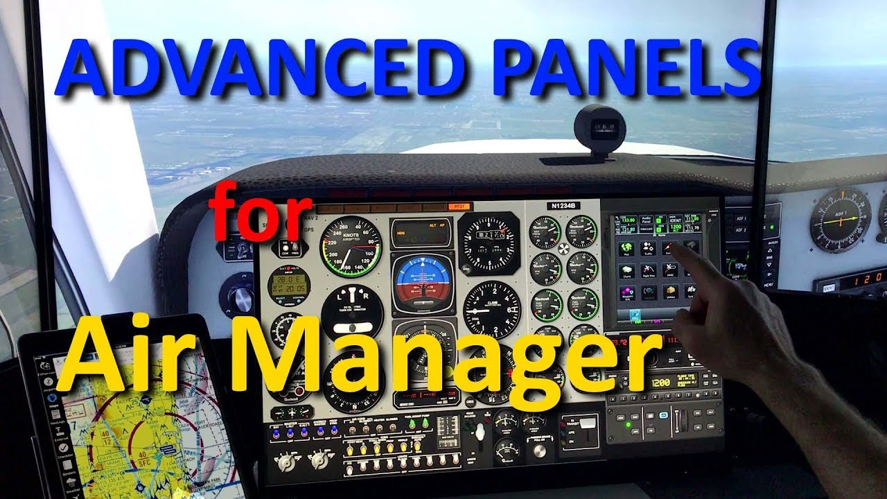 Advanced Air Manager Panels