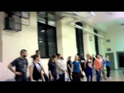 New Style Hustle Class 2/23/12 FORGET ME NOTS