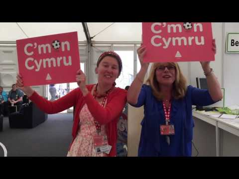 C'mon Cymru!