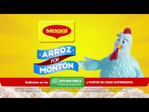 ¡Llegó MAGGI® Arroz por Montón!