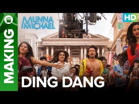 Munna Michael | Making of Ding Dang -...