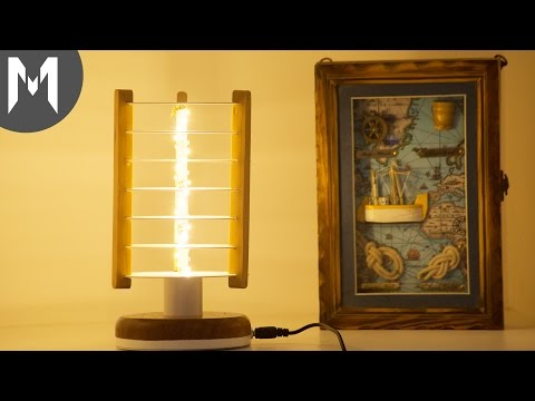 Upcycling CDs to Night Lamp