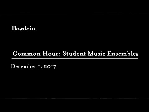 Common Hour: Student Music Ensembles