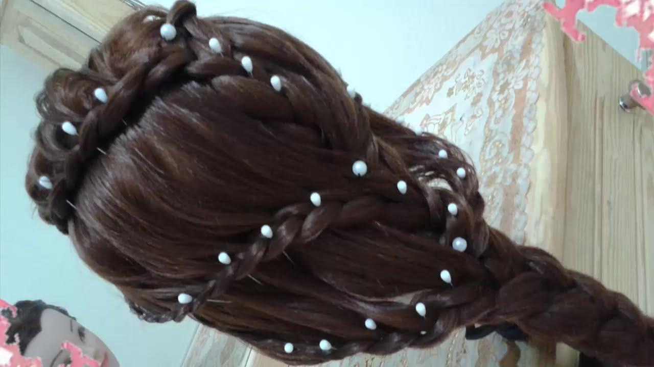 Peinados Elegantes Y Sencillos Faciles Para Cabello Largo Bonitos Y Rapidos Con Trenzas Para Niña39