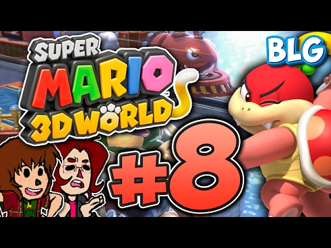 Let's Play Super Mario 3D World - Part 8 - The New Rule