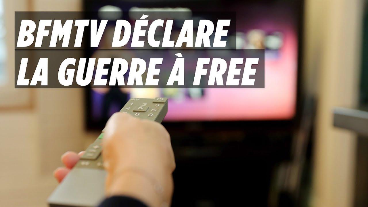 Pourquoi BFMTV ne veut pas être diffusée sur Free