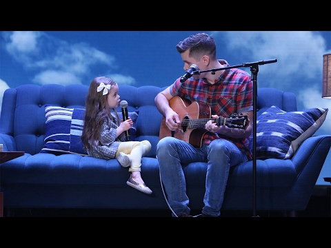 Adorable Singing Father-Daughter Duo Performs 'You've Got a