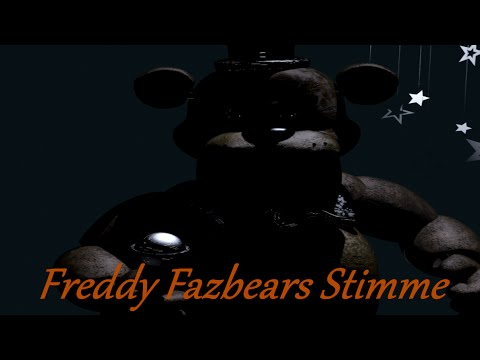 Freddy Fazbears Voice/Stimme | Five Nights At Freddy's | German/Deutsch