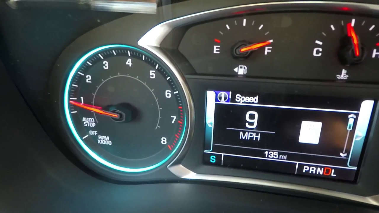 2018 Traverse 3 6 V6 0-60, Disabling Auto Stop, Following Distance Screen   Truckguyjoe 03:37 HD