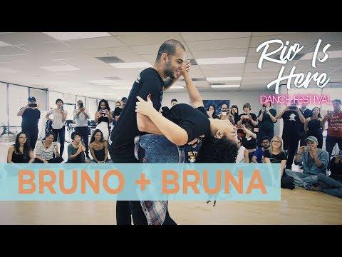 Zouk Demo by Bruno + Bruna (Renata Pecanha 2018)