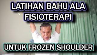 Sakit bahu, frozen shoulder, bertahun2 sembuh 1x terapi.