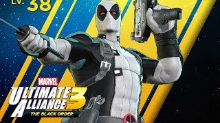 Marvel Ultimate Alliance 3: The Black Order - Deadpool (X-Force) Gameplay!