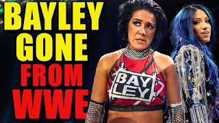 Bayley GONE From WWE After Hell In A Cell 2020! Why Is Bayley Suddenly LEAVING WWE In 2020 LEAKED!