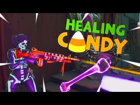 New BUGGED Candy Corn LMG! Fortnite STW