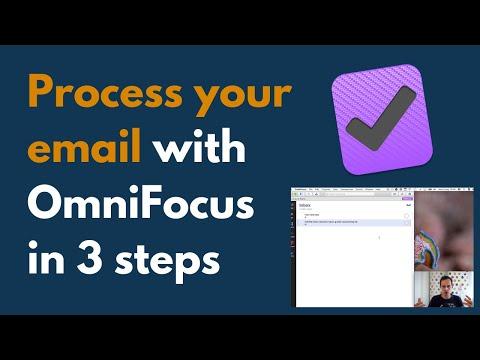 My 3-step OmniFocus