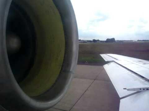 SarAvia Yak-42D  - Departure Rwy 27R from Hanover Langenhagen Airport (HAJ), Germany