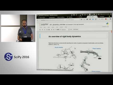 Simulating Robot, Vehicle, Spacecraft, and Animal Motion w/ Python Advanced | SciPy 2016 Tutorial