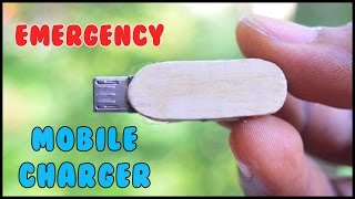 How to Make a Emergency Mobile Phone Charger / DIY Power Bank