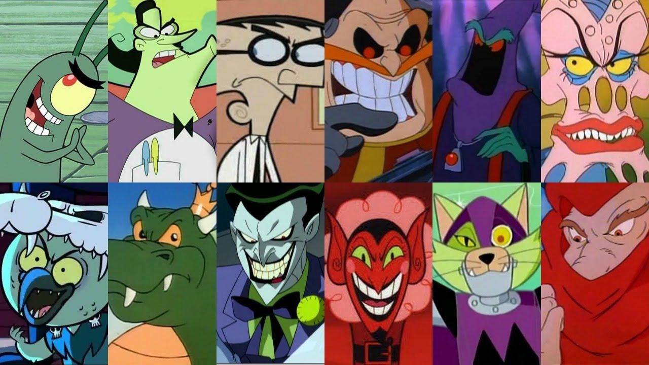 Defeats of my Favorite Cartoon Villains Part III