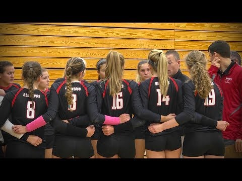 Hinsdale Central vs. Benet Academy, Girls Volleyball // 08.26.17